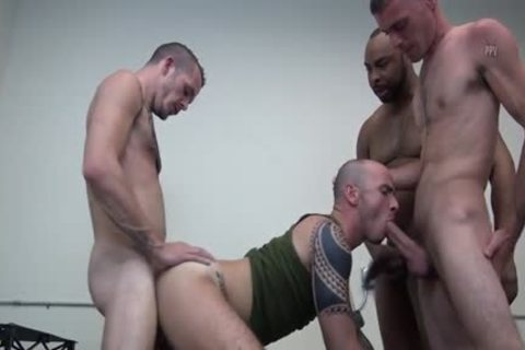 Latin homo double penetration And goo flow