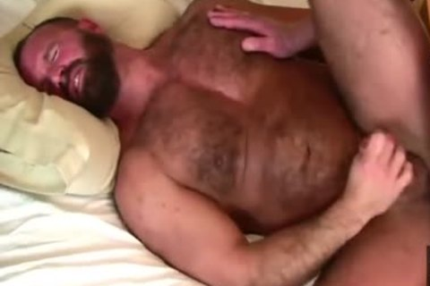 Daddy Bears slam In bed