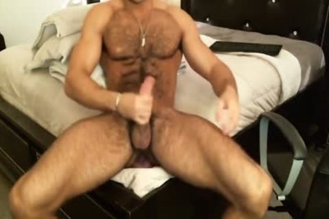 Hunk Sean Zevran dildos His butthole And Cums On web camera