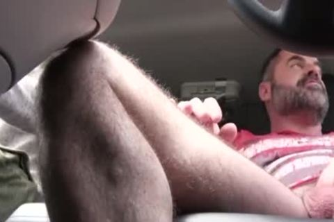 wicked dad pokes His Step Son In A Car - FAMI