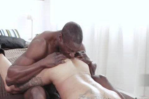 gigantic weenie homosexual wazoo pound With Facial