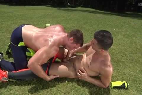 Two sexy boys In Lycra receive It On