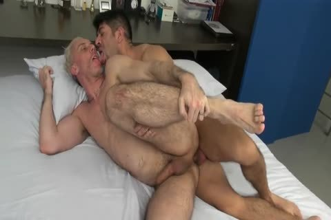 old Latin men bareback