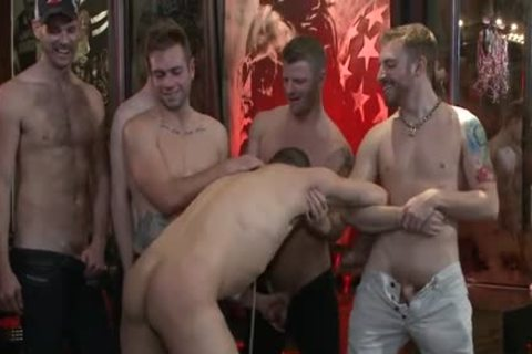 tight gay spanking And Facial