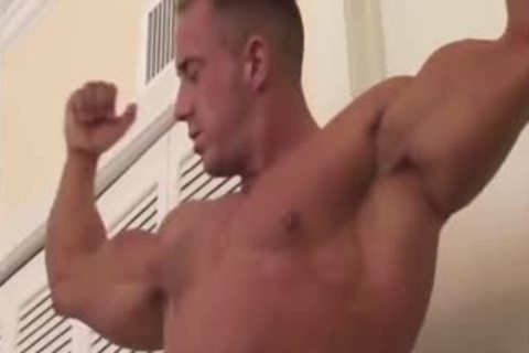 Muscle Worship And jack off