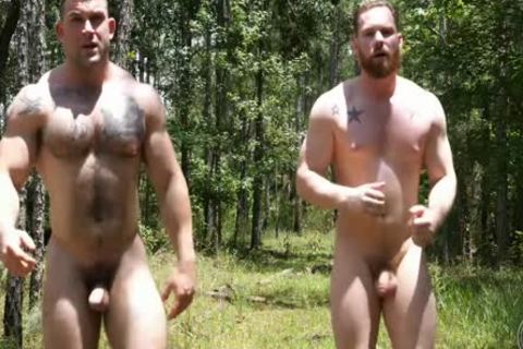 two Swinging knobs In The Woods
