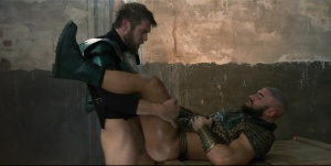 Just knob League : A homo XXX Parody - Colby Keller & Francois Sagat ass pound