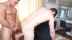 The Married Bottom - Dennis West and Topher Di Maggio ass invasion