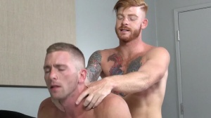 Straight chap's wench - Bennett Anthony with Scott Riley ass pound