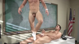 Hazing Bust - Rocco Reed with Joey Cooper butthole Hump