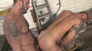 Late For Work - Spencer Reed and Alex Marte butthole Hook up