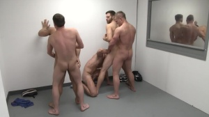 The Line Up - Landon Conrad with Trevor Knight ass plow