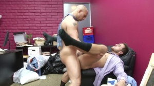 Law And Hoarder - John Magnum & Bryce Star ass Hook up