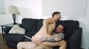 Space Invaders - Jordan Levine with Casey Jacks anal invasion