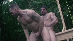 Battle Buddies - Ryan drills and Kit Cohen anal Love