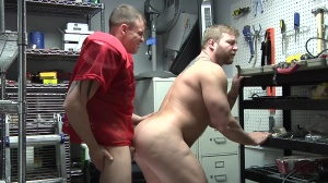 Janitor's Closet - Colby Jansen & Darin Silvers anal job