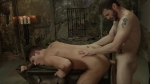 homo Of Thrones - Theo Ford and Dennis West butthole Nail