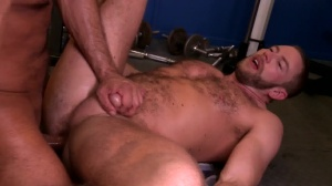 recent Muscle, Pro Muscle - Shay Michaels with Brian Davilla ass Nail