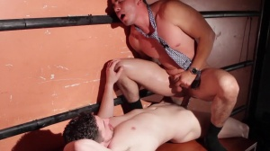 Warehouse collision - Andrew Stark & Enrique Romo anal sex