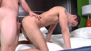 The Virgin - Jimmy Johnson & Landon Stone anal Nail