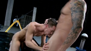 The Gaytrix - Colby Jansen and Darius Ferdynand butthole Hump