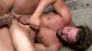 Fire Drill - Sebastian young and Andrew Blue anal pound