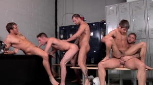 Football Fuckdown - penis Daily & Johnny Rapid ass Love