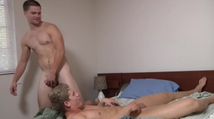 Blocking The Roommate - Jimmy Johnson and Brett Carter anal Nail
