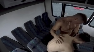 fellows In Public 28 - Bus pound - oral stimulation Hook up