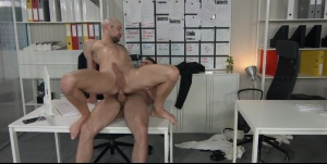 Putting The booty In Assistant: - Paddy O'Brian and Drew Dixon butthole Hump