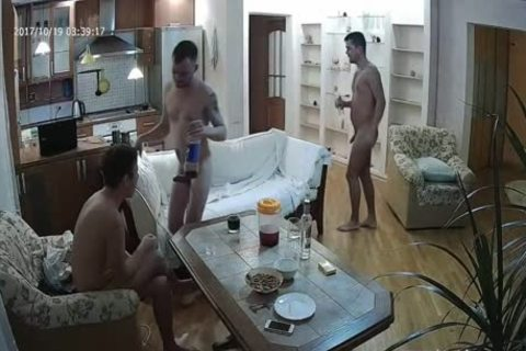 nice-looking Voyeur homo threesome With plenty of suck job