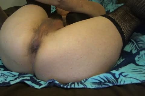delicious Tasha delicious hirsute ass Play sex tool Crossdresser Closeup