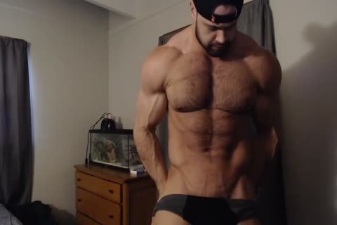 curly Chest Muscle Worship Clips