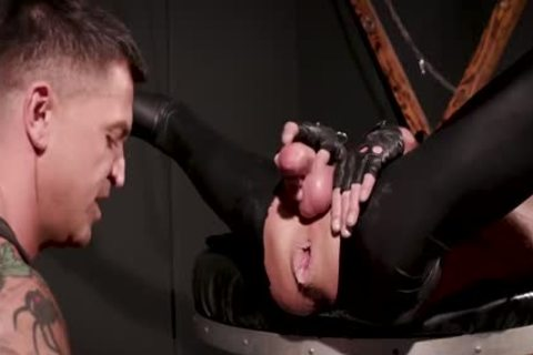 black Box, Double Fist Gimp - Dominic Pacifico   Pup Mask