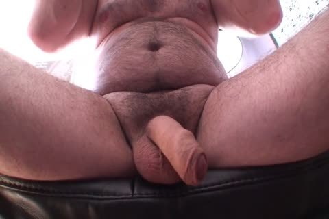 Playing Jerking And sperm Uncut Foreskin hairy bisexual dad's