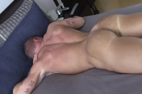 straight chap TANNER SHOW HIS REDNECK butthole