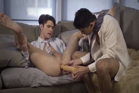 Gentlemen 19: Hard At Work – Scene 2 – Devin Franco And Lee Santino Flip-nail