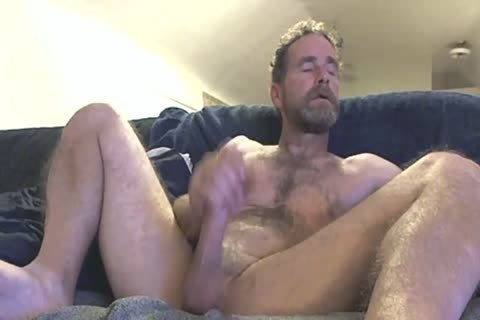daddy Fingering His penis In Front Of The Camera