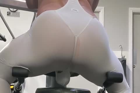 A Tendenze Bodysuit At The Gym
