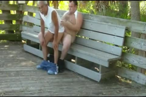 outside Scenes Where older man Sucks & acquires plowed By fat