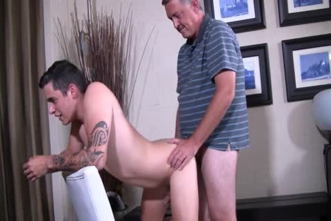 Silver Daddy fuck horny young