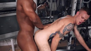 Bench Press My anal - Cody Smith  with DeAngelo Jackson American Sex
