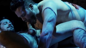 Camp Chaos - Hell's Kitchen: bareback - Matthew Camp & Liam Lee American Hook up