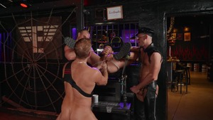 Tom Of Finland: Leather Bar Initiation - Dirk Caber & Kurtis Wolfe American Sex