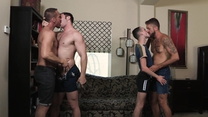 Family Dick - Wesley Woods with Joe Ex moaning