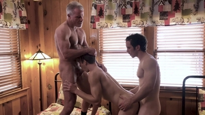 Family Dick: Tight Dale Savage and Greg Mckeon in the bed