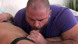 Family Dick: Bishop Angus alongside Maxx Monroe edging