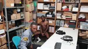 Young Perps: Officer Ethan Thompson nudist disciplined