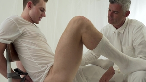 MissionaryBoys.com - President Oaks first time swallow scene
