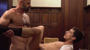 MissionaryBoys: Passionate Elder Dial gets hard nailining